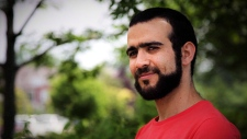 Former Guantanamo Bay prisoner Omar Khadr, 30, is seen in Mississauga, Ont., on Thursday, July 6, 2017. (Colin Perkel/ THE CANADIAN PRESS)