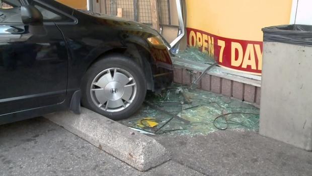 Ontario and Joseph crash