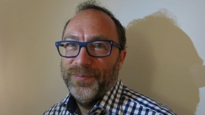 Jimmy Wales, co-founder of Wikipedia, poses for a portrait in Mexico City, Thursday, July 16, 2015. (AP photo/Berenice Bautista)