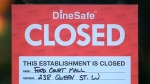 queen street, food market, closed, public health
