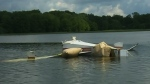 Crashed plane retrieved from lake