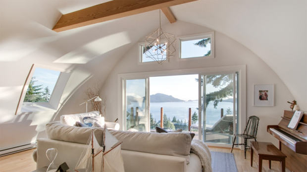 """The co-host of HGTV's """"Love It or List It Vancouver"""" has just listed his waterfront home in Lions Bay, B.C., with a price tag of a cool $2.4 million. (Blu Realty)"""