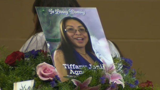 Tiffany Ear left behind nine children and two grandchildren.