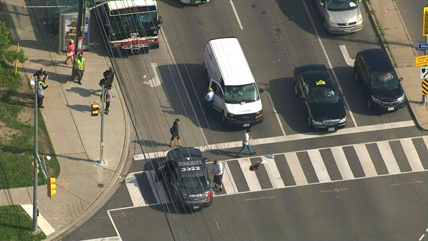 Teen critically hurt following hit-and-run in Toronto's east-end