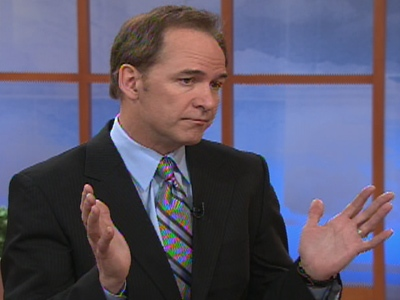 Royal LePage's Phil Soper appears on Canada AM on Wednesday, April 8, 2009.
