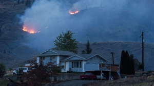 The Thompson-Nicola Regional District lifted an evacuation order for 309 properties in the area, but an alert remains in place, warning residents that they may need to leave again on a moment's notice. (File Image)