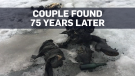 Couple found frozen after 75 years