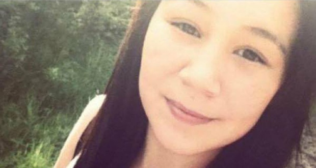 Leah Anderson, a 15-year-old girl who was brutally slain and left on a snowy trail in Gods Lake Narrows, Man., in 2013. (RCMP photo)