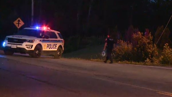 Ottawa Police investigating motorcycle crash on Stagecoach Road at Empire Grove St. Tuesday night.