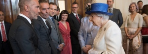 queen visits canada house