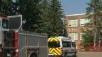Fire at southwest Calgary school