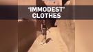 Saudi skirt arrest