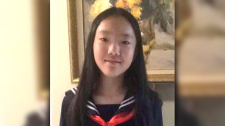 Marissa Shen, 13, lived with her family near the Burnaby park where she was found dead early Wednesday morning. (Handout)