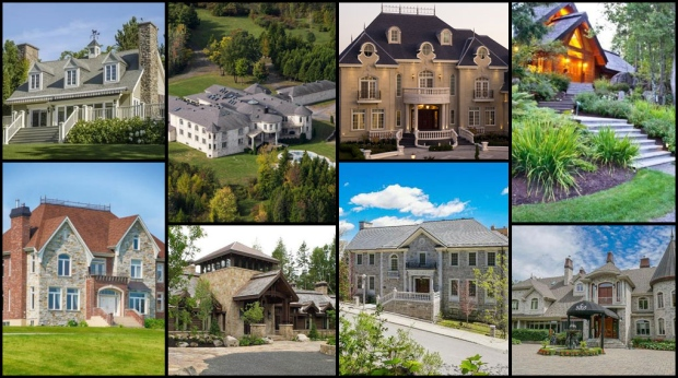 From waterfront houses to equestrian properties, there&#39;s no shortage of luxurious places to call home in Quebec. CTVNews.ca takes a look at the top 10 most expensive properties on the market across the province.<br><br>  List provided by www.point2homes.com