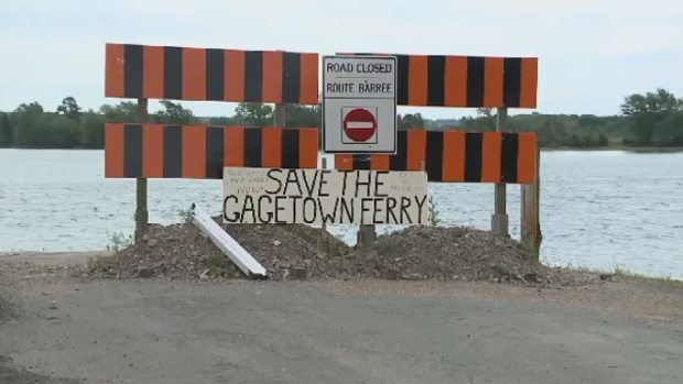 Save the Gagetown Ferry