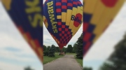 Balloon landing gives St. George a surprise