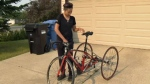 Paracyclist reunited with stolen ride