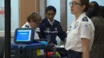 Edmonton International Airport security officers