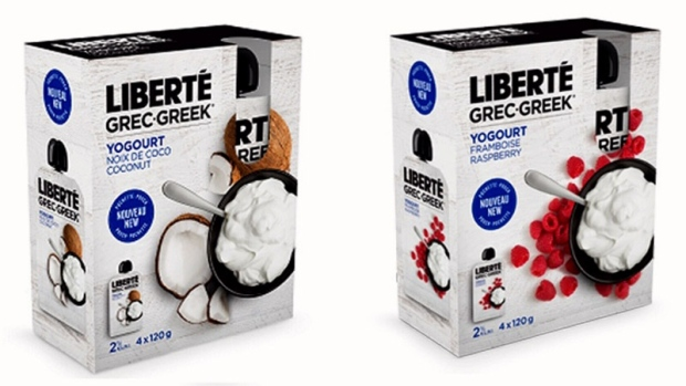 Several yogurt products recalled over plastic risk