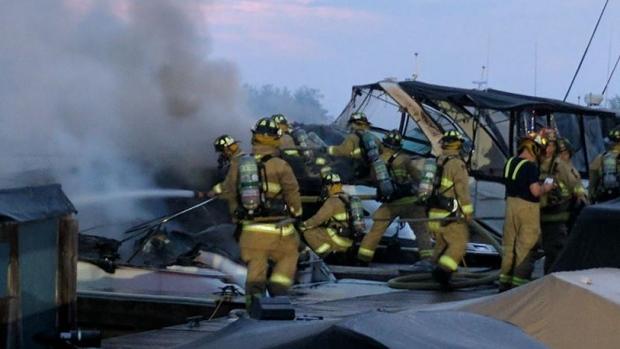 Photo courtesy of Scott Stilborn, Ottawa Fire Service