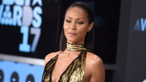 In this June 25, 2017, file photo, Jada Pinkett Smith arrives at the BET Awards at the Microsoft Theater in Los Angeles. Smith told SiriusXM radio in an interview Wednesday, July 19, 2017, that she was a drug dealer when she first met Tupac Shakur in high school in Baltimore in the late 1980s. (Photo by Richard Shotwell/Invision/AP, File)