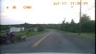 RCMP released this image showing the man driving the ATV with the children on it. (Cumberland District RCMP)