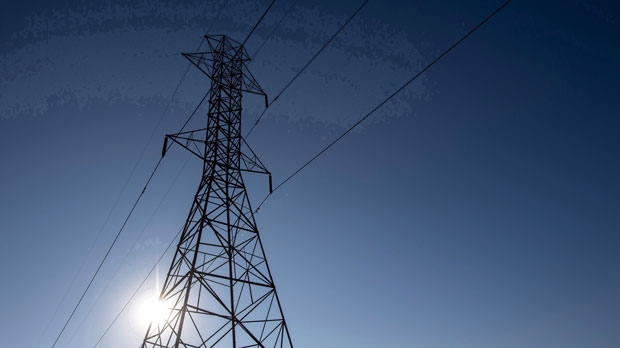 A hydro tower is shown in Toronto on Wednesday, November 4, 2015. The Ontario government's plan to lower hydro rates, which have roughly doubled over the last decade, is expected to cost taxpayers $21 billion over the next 30 years, according to the province's budget watchdog. (THE CANADIAN PRESS/Darren Calabrese)