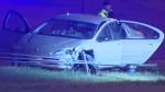 Driver overdose caused crash