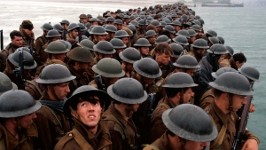 This image released by Warner Bros. Pictures shows a scene from 'Dunkirk.' (Warner Bros. Pictures via AP)