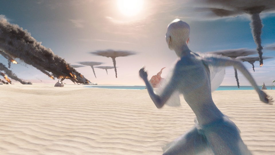 This image released by STX Entertainment shows a scene from 'Valerian and the City of a Thousand Planets.' (STX Entertainment via AP)