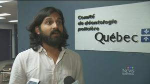 Julian Menezes was arrested by Stefanie Trudeau, Agent 728, in May 2012
