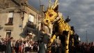 Long Ma, a 45-ton half-horse, half-dragon, will awaken at 10 a.m. on Friday, July 28. (Courtesy Ottawa 2017)
