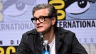 Colin Firth speaks at the 20th Century Fox panel on day 1 of Comic-Con International in San Diego. (Photo by Richard Shotwell / Invision / AP)