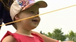 Greta Marofke, a liver transplant recipient who has been diagnosed with lung cancer, enjoyed her 'super fun' day at Camp SunRise on July 20, 2017