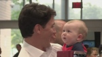 Trudeau talks kids, affordable housing