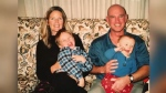 Son of man who died of cancer also diagnosed