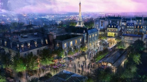 An artist's depiction of the new Ratatouille attraction coming to Epcot. (Disney Parks/Twitter)