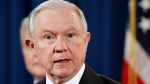 Attorney General Jeff Sessions speaks during a news conference at the Justice Department in Washington, July 13, 2017. (AP / Jacquelyn Martin)