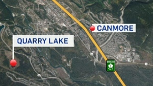 Drowning victim found in Quarry Lake