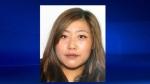 Woman sought in quadruple murder