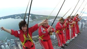85th birthday marked with CN Tower EdgeWalk