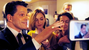 Anthony Scaramucci at the World Economic Forum in Davos, Switzerland, on Jan. 17, 2017. (Michel Euler / AP)