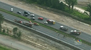 chemical spill on Highway 400