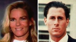 This file combo photo shows Nicole Brown Simpson, left, and her friend Ron Goldman, both of whom were murdered and found dead in Los Angeles on June 12, 1994. (AP Photo/File)