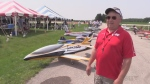 Friendly flying festival in Wingham with precision jets