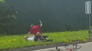 Road Rage: Violent attack on elderly cyclist