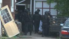 Tactical teams descend on Kitchener neighbourhood