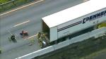 truck, hwy 400, closure