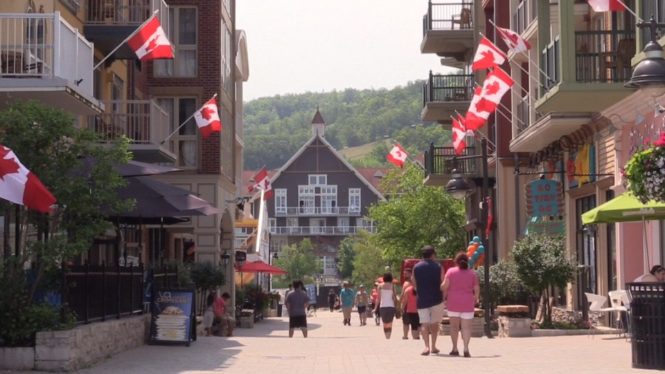 Business owners say American tourism is on the rise in our region  (CTV Barrie Roger Klein)