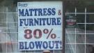 Sears liquidation sale - Okotoks